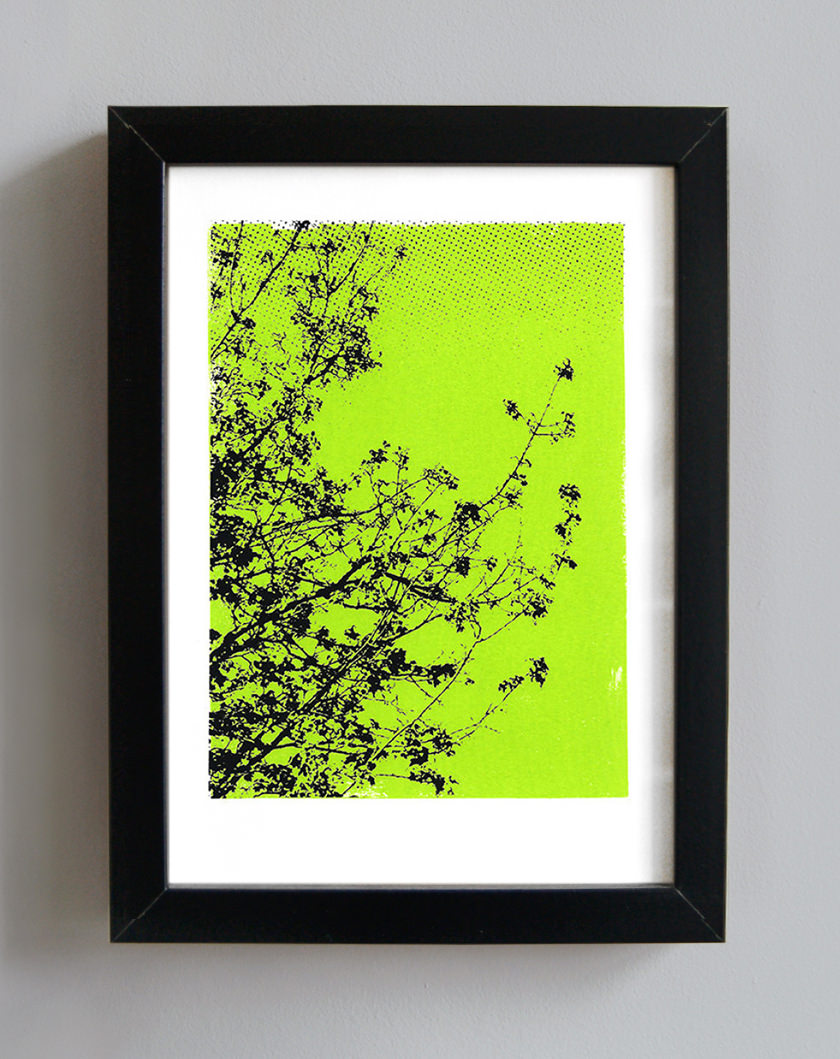 Trees screenprint
